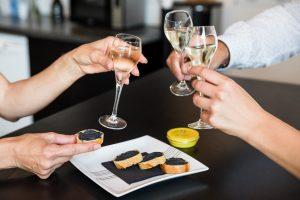 Consommation du caviar